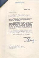 Link - Letter from Admiral Nimitz